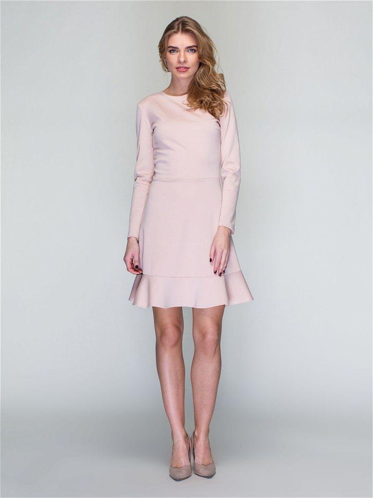 Сукня приталеного силуету з розклешоною спідницею - Жіночий одяг від ... f308697911f94